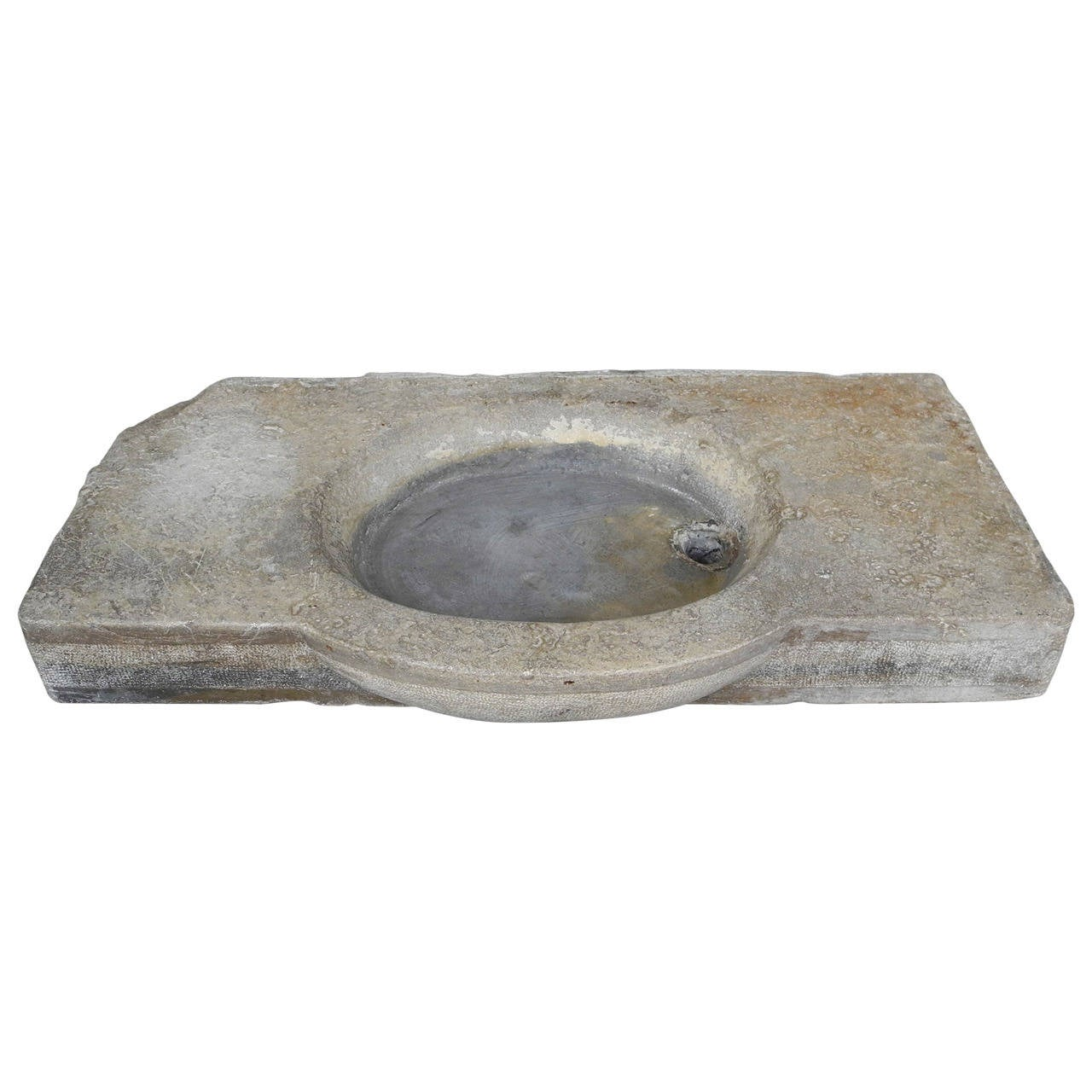 Reclaimed Stone Sink : Antique Stone Sink at 1stdibs