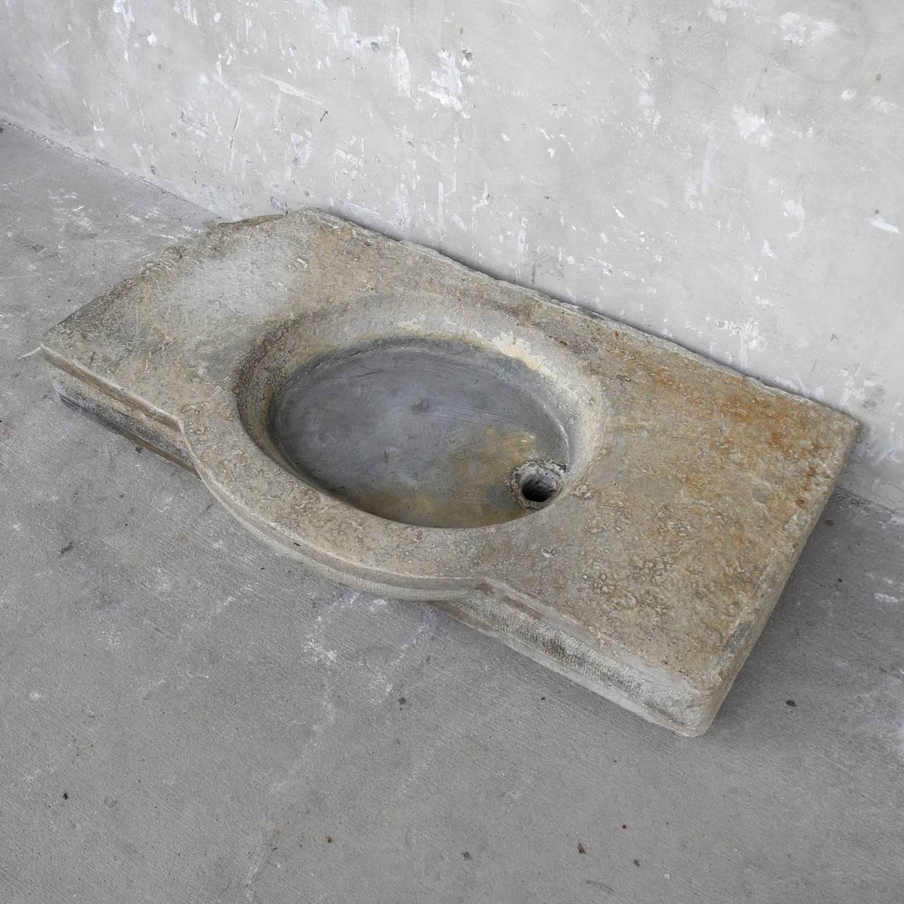 Antique Stone Sink 3