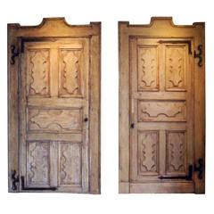 Set of Two Antique Doors