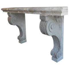 "18th Century Italian Console Table from the Courtyard of a ""Palazzo"" in Arezzo"