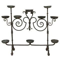 Antique 19th Century Decorative Iron Stand