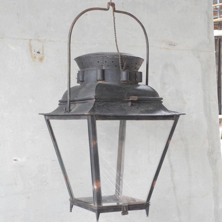 18th c. Lantern from a Provençal Mas