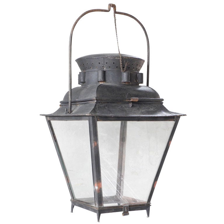 18th c. Lantern For Sale