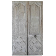 Pair 18th c. Entrance Doors
