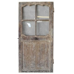 18th c. Door with Glass