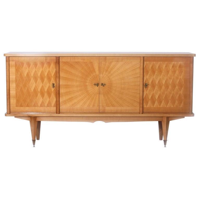 Lemon Wood Furniture ~ Lemon wood parquetry buffet at stdibs