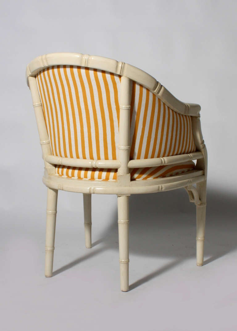 Bamboo Chippendale Chair
