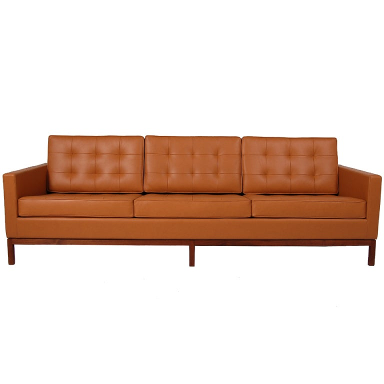 florence knoll sofa at 1stdibs. Black Bedroom Furniture Sets. Home Design Ideas