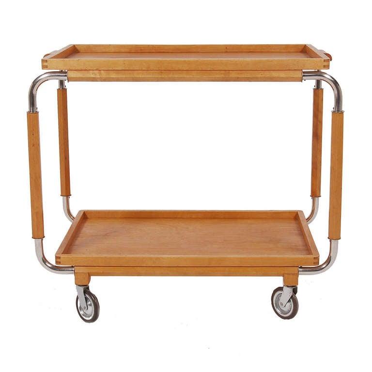 Swedish Art Deco Bar Cart At 1stdibs