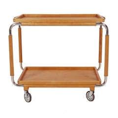 Swedish Art Deco Bar Cart