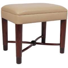 Occasional Stool by Gilbert Rohde