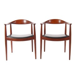 Pair of Hans Wegner Classic Chairs