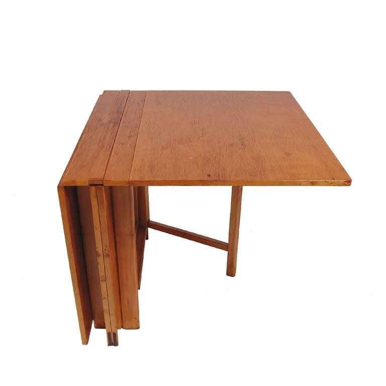 Early bruno mathsson maria expandable dining table at 1stdibs for Dining room tables quality