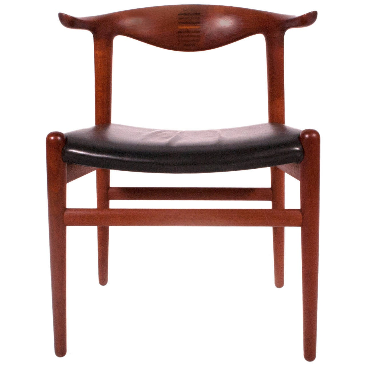Cowhorn Chair by Hans Wegner 1953 For Sale at 1stdibs