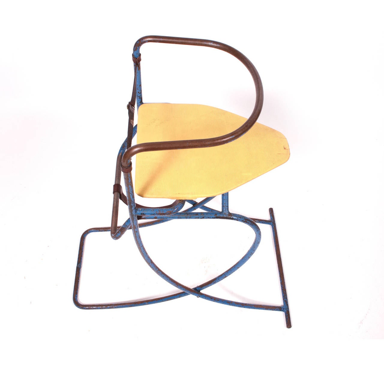 Swedish Convertible Child's High Chair and Rocker For Sale