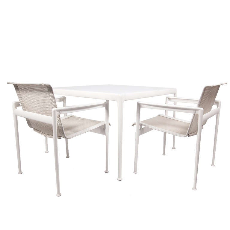 Richard Schultz Outdoor Dining Set For Knoll At 1stdibs
