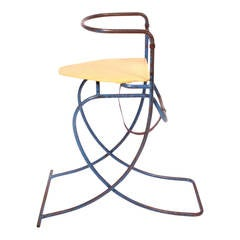 Convertible Child's High Chair and Rocker