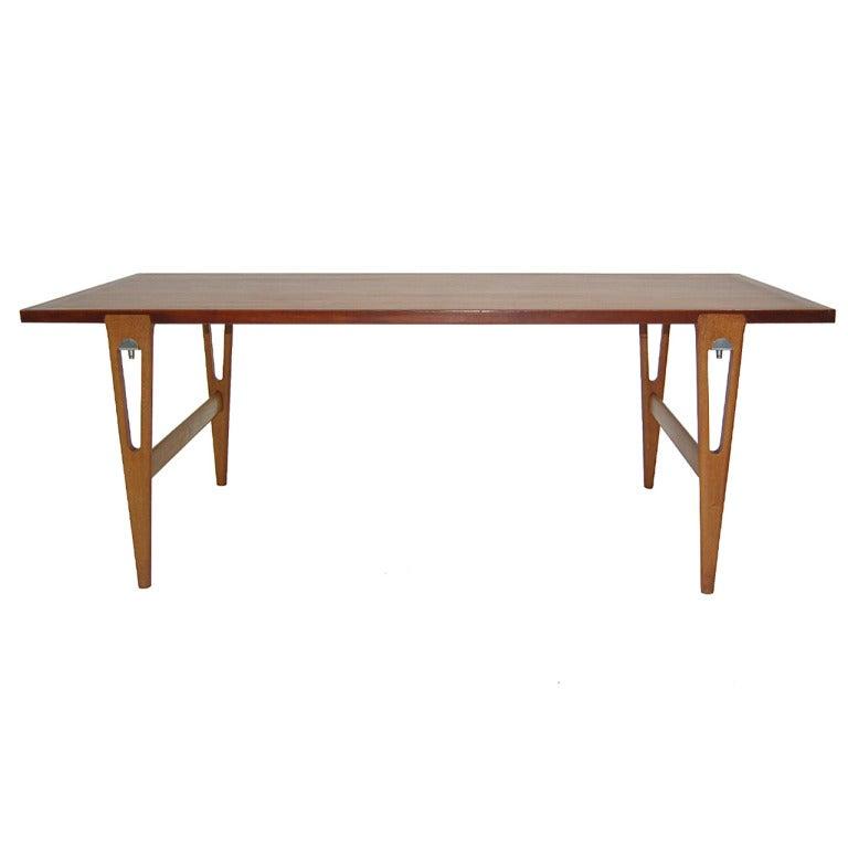 Rare Hans Wegner for Johannes Hansen Table or Desk
