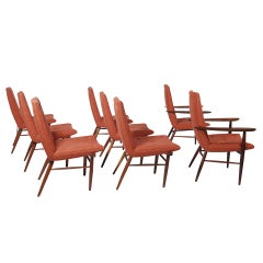 Set of Eight Origins Dining Chairs by George Nakashima