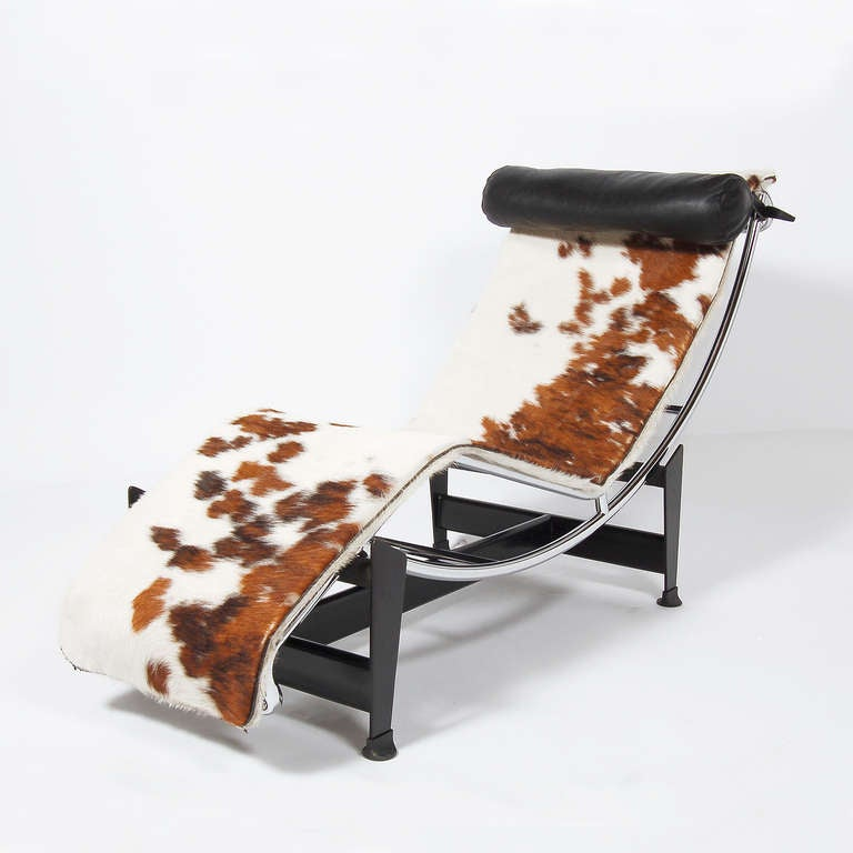 lc 4 chaise longue by le corbusier at 1stdibs. Black Bedroom Furniture Sets. Home Design Ideas