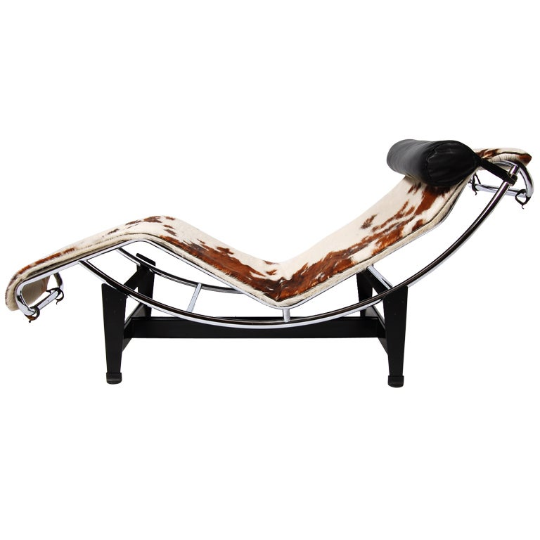 Lc 4 chaise longue by le corbusier at 1stdibs for Chaise longue le corbusier prix