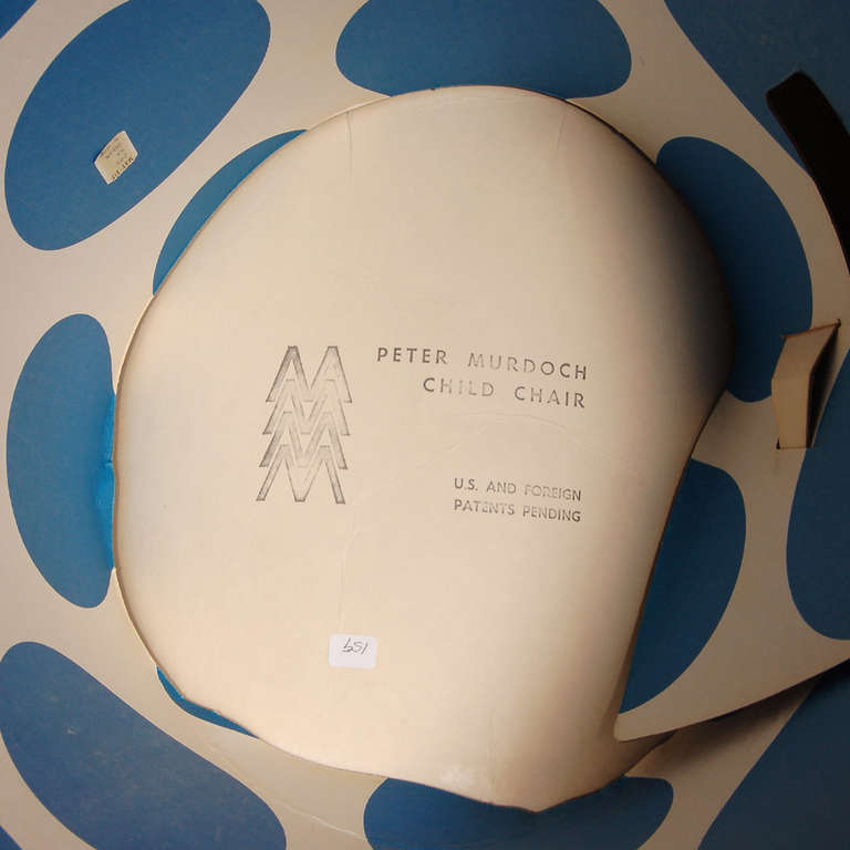 British Rare Cardboard Child's Chair by Peter Murdoch For Sale