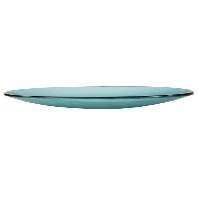 Long Leaf Shaped Inciso Bowl by Paolo Venini