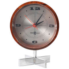 Table Clock by Arthur Umanoff for George Nelson and Associates