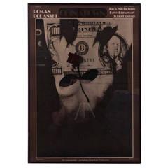 1976 Roman Polanski 'Chinatown' Lithographic Poster
