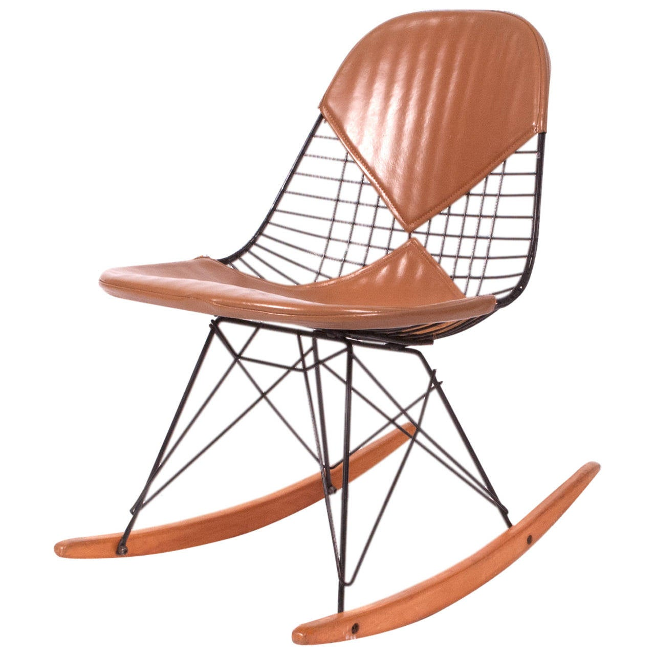 rkr charles eames rocker chair original at 1stdibs