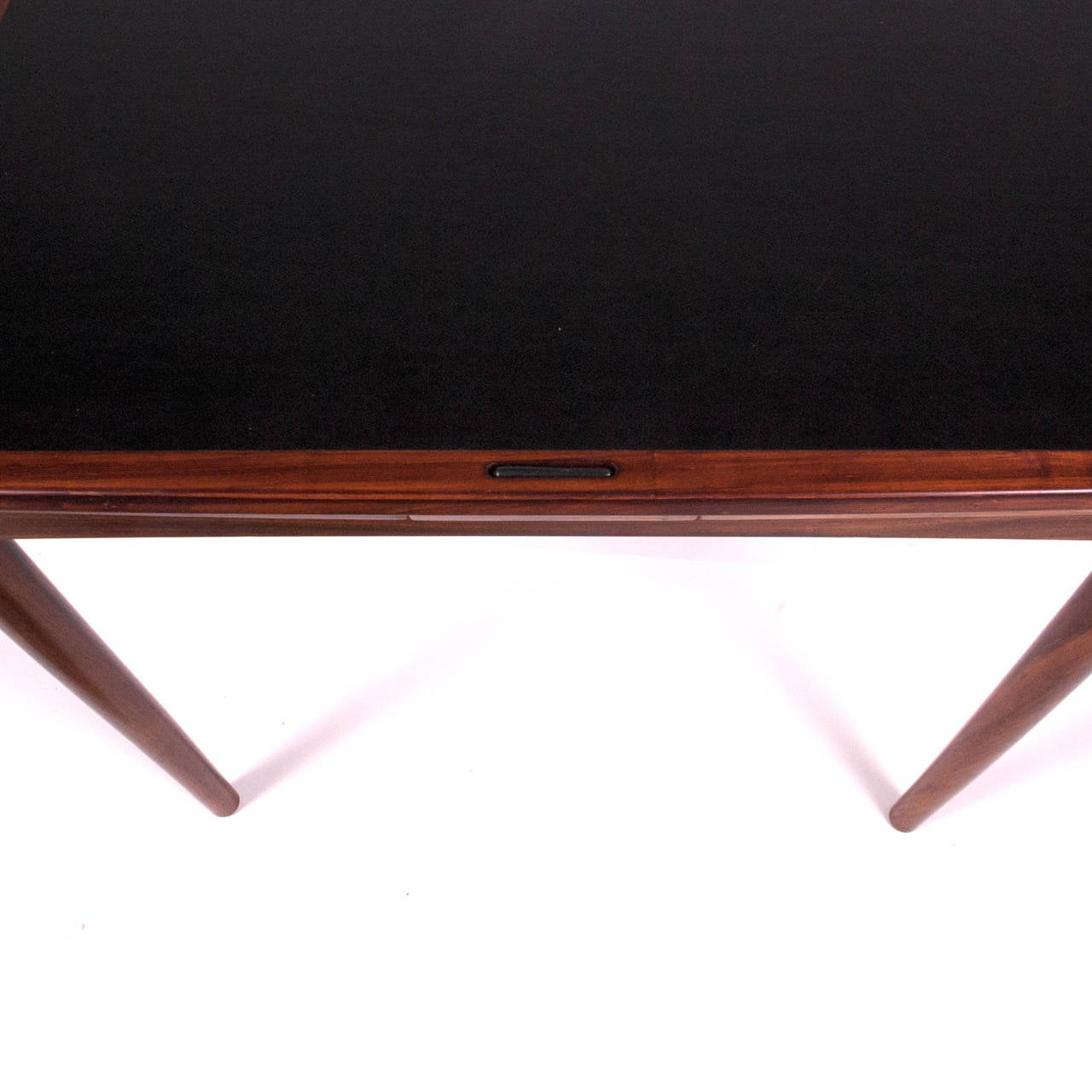 1960s Danish Rosewood Sign Game Table Design by Poul Hundevad For Sale 1