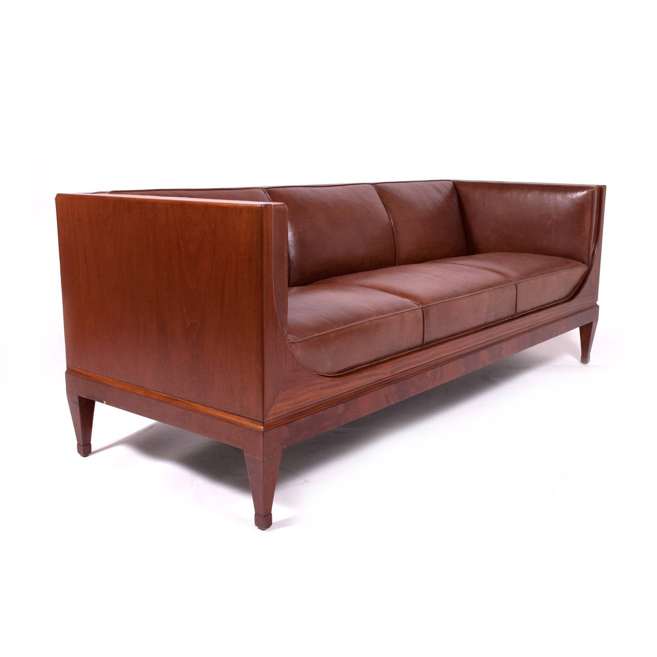 Classic sofa by frits henningsen 1930s for sale at 1stdibs for Classic sofa