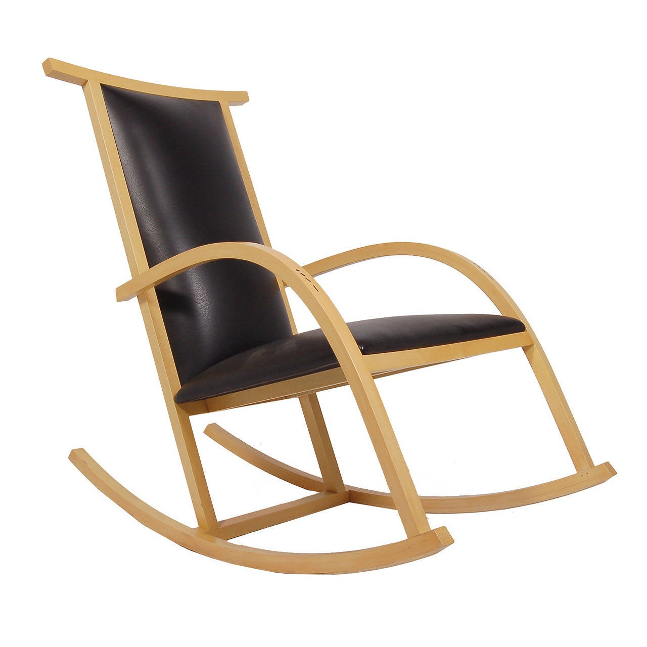 Rocker chair by carlos riart for knoll for sale at 1stdibs - Knoll rocking chair ...