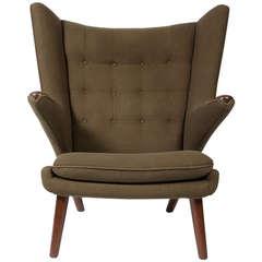 Rosewood Papa Bear Chair by Hans Wegner