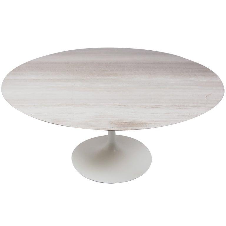 Custom 60 Round Tulip Dining Table At 1stdibs