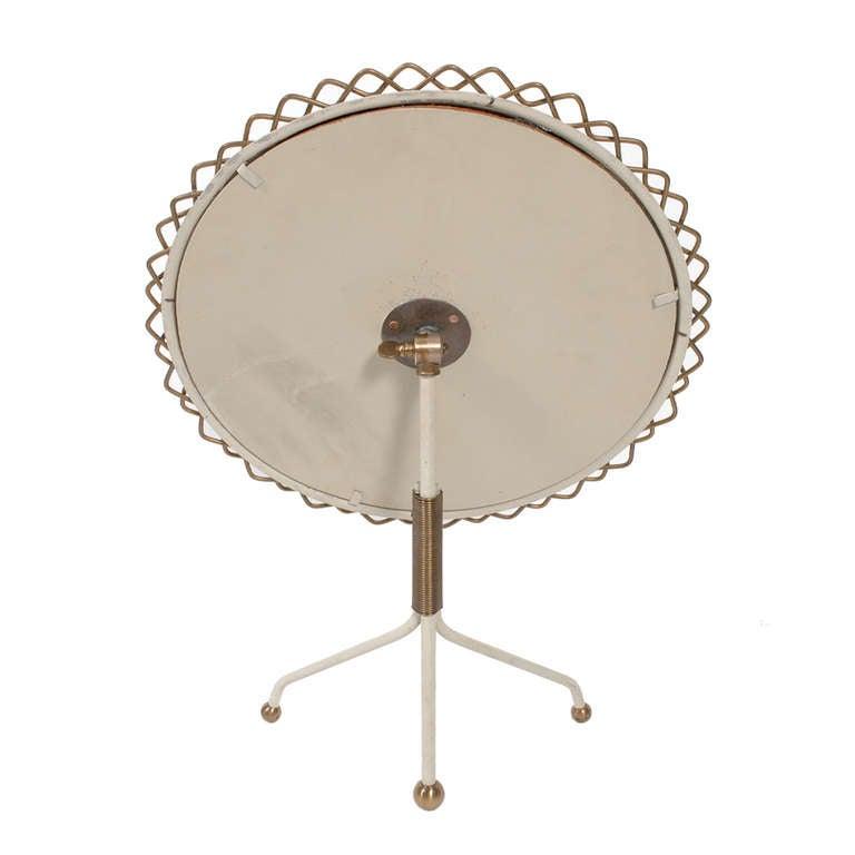 Scandinavian Modern Hans Agne Jakobsson Table Mirror For Sale