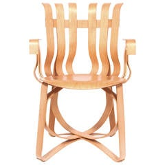 """Frank Gehry """"Hat Trick"""" Armchair for Knoll"""