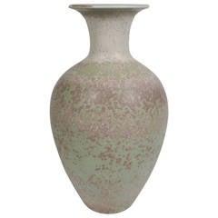 "Large Stoneware Vase by Gunnar Nylund ""Craquelee"" Series, 1942"