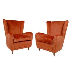 Pair of Paolo Buffa Lounge Chairs