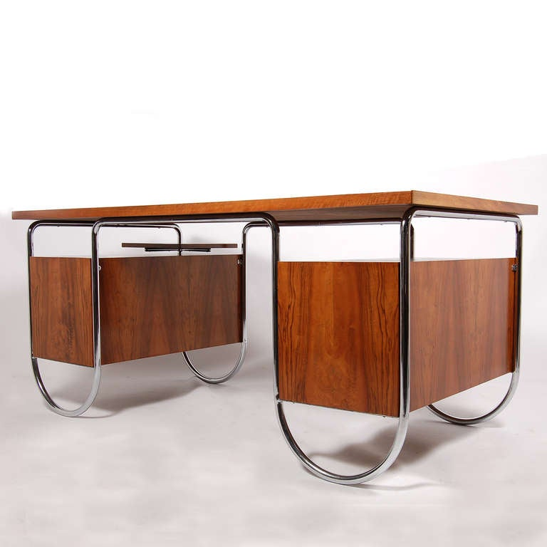 Dfw Furniture Columbus Ohio: Rare Desk By Marcel Breuer For Columbus Model 181E At 1stdibs