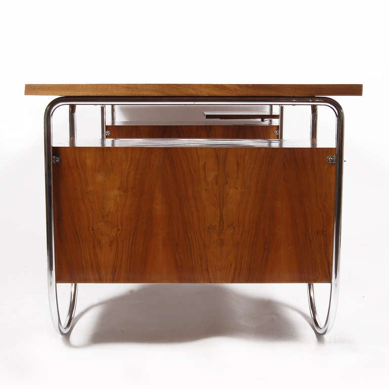 Dfw Furniture Columbus Ohio: Rare Desk By Marcel Breuer For Columbus At 1stdibs