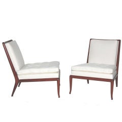 Pair of Slipper Chairs by Robsjohn-Gibbings