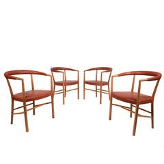 Jacob Kjaer Set of Four UN Chairs
