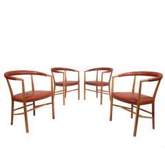 Jacob Kjaer Set of Four UN Chairs