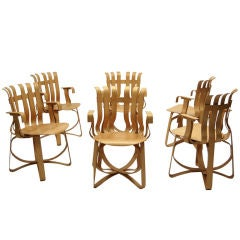 Hat Trick Armchairs by Frank Gehry