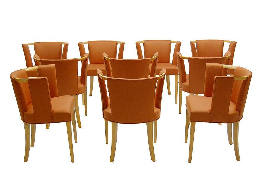 Set Of Ten Chairs By Eliel Saarinen At 1stdibs
