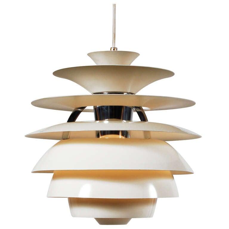 Poul Henningsen Snowball Pendant Lamp At 1stdibs