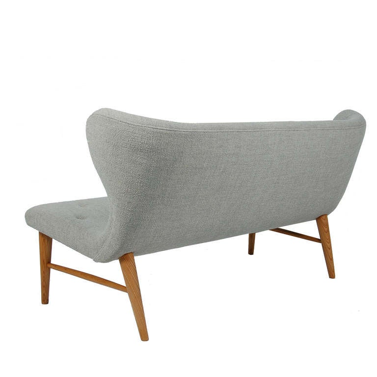 Scandinavian Modern Rare Settee by Elias Svedberg For Sale