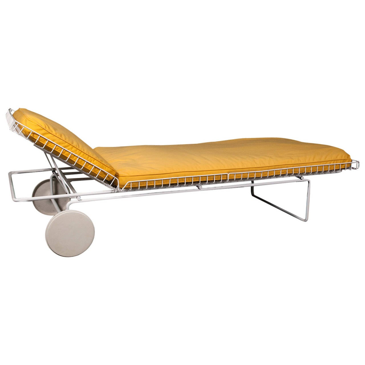 Early richard schultz model 715 chaise longue for knoll for Chaise modele