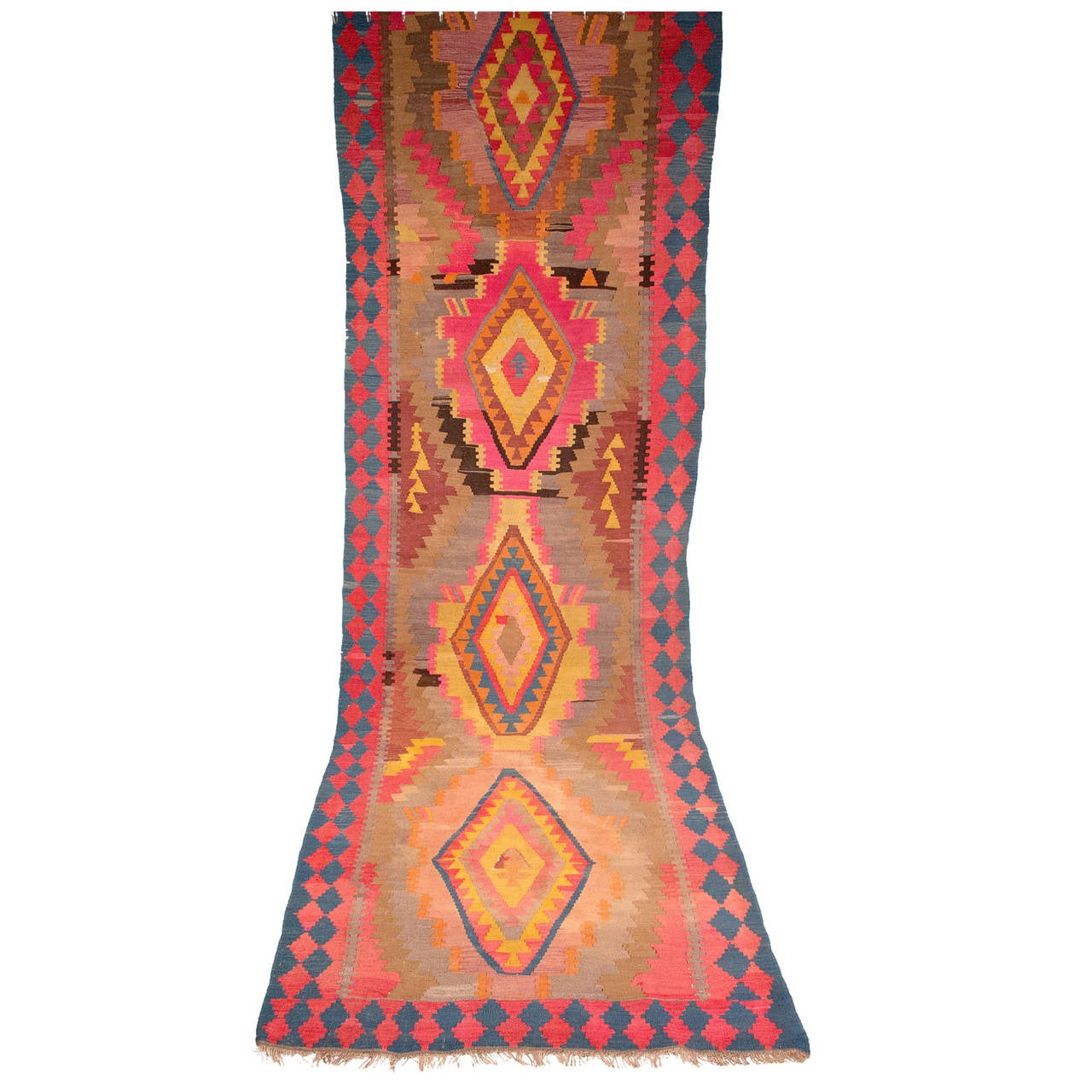 Early 20th Century Kilim Runner At 1stdibs